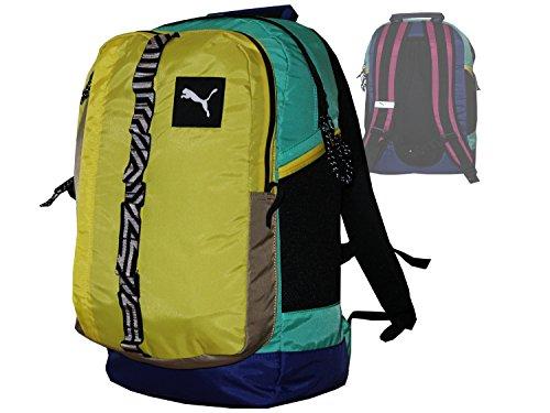 Puma Rucksack Sport & Freizeit Gelb Backpack PY Fresh Urban Daypack Notebookrucksack Arbeit, Büro, Schulrucksack Daybag Tasche ca.48 x 29 x 21 cm, 27 Liter