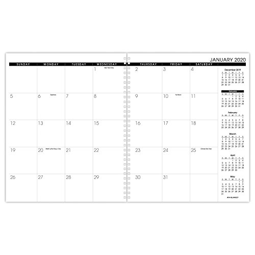 "AT-A-GLANCE Monthly Planner Refill 2020, for 70-236 or 70-296, 9 x 11"", White (70923-80) Photo #3"