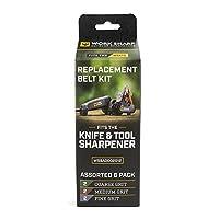 Work Sharp Knife & Tool Sharpener Replacement Belt Kit (WSKTS & WSKTS-KT)