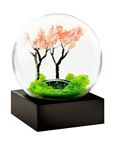 CoolSnowGlobes	Spring Trees Glass Snow Globe by CoolSnowGlobes