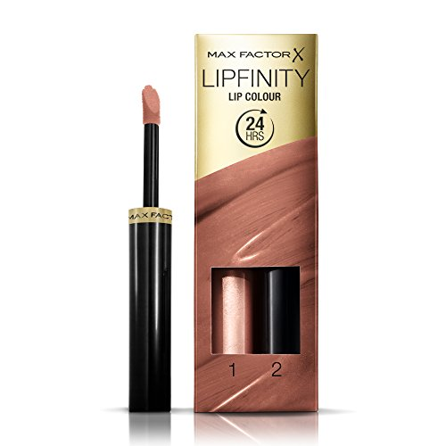Max Factor Lipfinity Paint for Lips & Moisturizing Top Coat, Spiritual 180, 1 system (Max Factor Lipfinity Lip Paint)