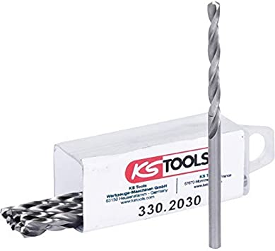KS Tools 330.2031 HSS-G Spiralbohrer 10er Pack 3,1mm