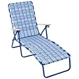 Rio Creations Web Chaise Lounge Blue (1)