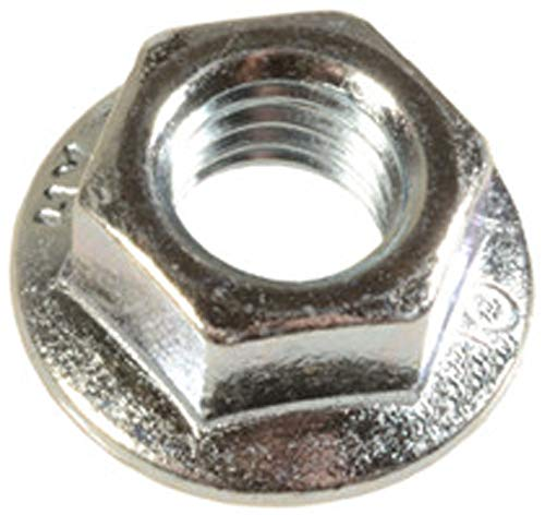- 50 M8-1.25 Metric Spin Lock Nuts With Serrations