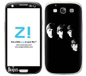 Zing Revolution The Beatles Premium Vinyl Adhesive Skin for Samsung Galaxy S 3, Band Image (MS-BEAT30415)