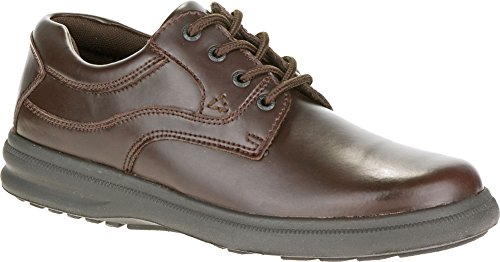 Hush Puppies Mens In Pelle Pull Up Marrone Glen Oxford