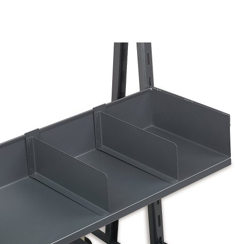 """Valley Craft F81818A6 Flush Front Deep Tray, 6"""" Height x 15"""" Depth, For Heavy Duty A-Frame"""