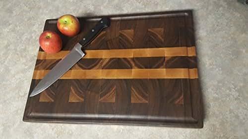 Walnut End Grain Cutting Board