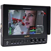 LILLIPUT 7 663/S2 IPS 3G-SDI HDMI In Out HD Peaking Monitor BMCC for DSLR & Full HD Camcorder