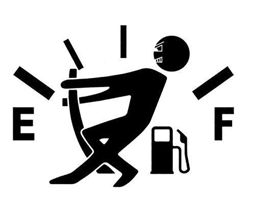 MTSZZF Auto Tankdeckel Aufkleber Aufkleber Vinyl Aufkleber Lustige Zeichen Abziehbild