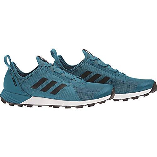 Adidas Terrex Agravic Speed–Scarpe da uomo–Verde/Blu–Taglia 471/3