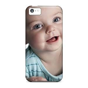 Jeffrehing AZHJpAI2202wVmcE Case Cover Iphone 5c Protective Case Smiling Angel