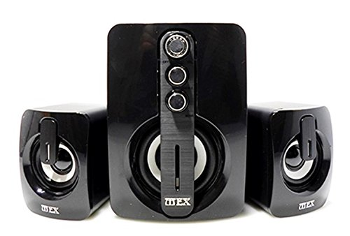 Caixa de Som 9W Multimídia 2.1 Active Speakers M65*