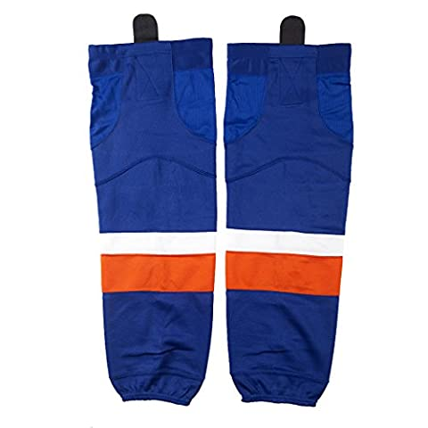 Youth Dri-fit Practice Hockey Sock, COLDINDOOR School Guys Cool Protective Ice Hockey Socks For Men Boy Sapphire Blue - Rbk Skate Pant