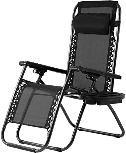 Zero Gravity Chair Outdoor Folding Lounge Chair Recliners Adjustable Lawn Lounge Chair