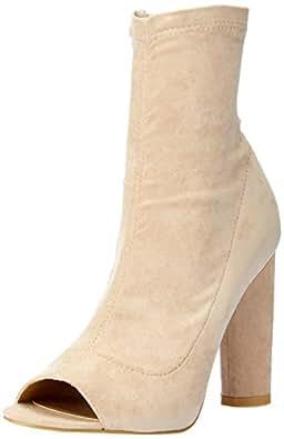 BILLINI Women's Parody Shoes, Stone Suede, 10 AU