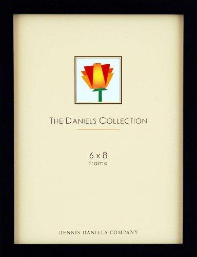 Black Square Corner ESSENTIALS 6x8 frame by Dennis Daniels - 6x8