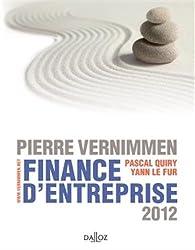 Finance d'entreprise 2012 - 10e éd.: Dalloz Gestion