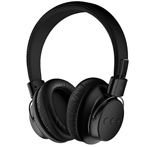 Mpow H1 Bluetooth Headphones Over Ear Lightweight, Comfortable for Long-time Wearing, Hi-Fi Stereo Wireless Headphones, Foldable Headset w/Built-in Mic and Wired Mode for PC/Cell (Ear Lightweight Headphones)