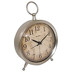 Westclox 49829V Big Ben Metal Case Decor Alarm Clock with Quartz Accuracy
