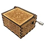 PENGYGY Best Gifts Pure Hand-Classical Music Box Hand-Wooden Music Box Creative Wooden Crafts