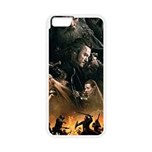 the hobbit the battle of the five armies war wide iPhone 6 Plus 5.5 Inch Cell Phone Case White 53Go-407966