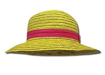 One Piece Luffy Mugiwara chapeau de paille cosplay costume  Amazon ... a6e561bc467