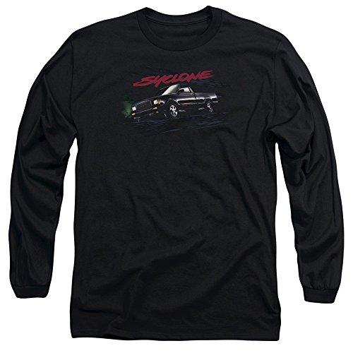 GMC Mens Syclone Long Sleeve T-Shirt, Medium, Black