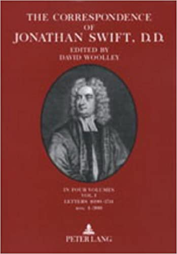 Book Correspondence of Jonathan Swift, Volumes 2 and 3