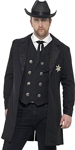 Smiffys Curves Sheriff Costume