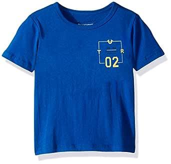 True Religion Boys Logo Tee Shirt Short Sleeve T-Shirt - Blue - 2T