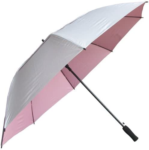 RainStoppers 62-Inch Silver Coated Windbuster Golf Umbrella [並行輸入品]