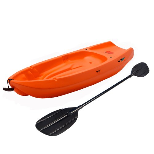 Lifetime 90479 Youth 6 Feet Wave Kayak With Paddle  Orange