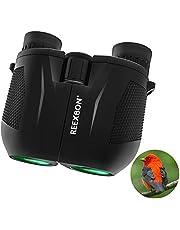 Binocolo 10x25, Compact HD Professionale per Bird Watching Viaggio Stargazing Caccia Concerti Sports-Bak-4 Prism FMC Lens -con Borsa per Il Trasporto e Tracolla