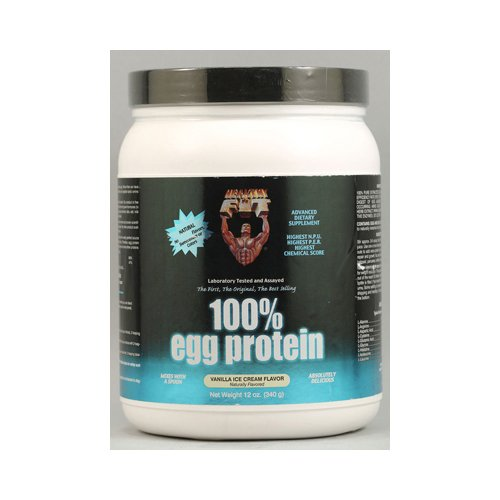 'N Fit Nutritionals 100% Egg Protein Vanilla Ice Cream sain - 12 oz
