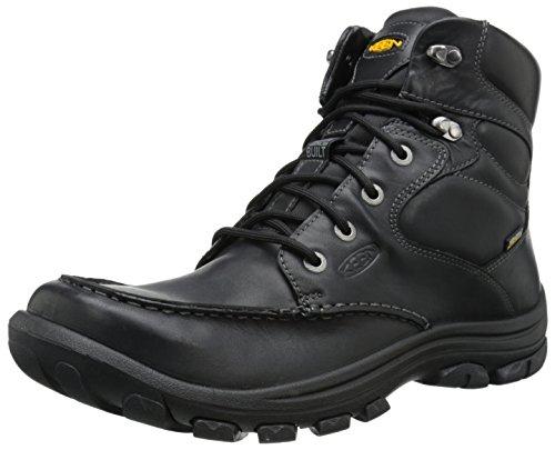KEEN Men's Anchor Park WP Casual Boot, Black, 10 M US