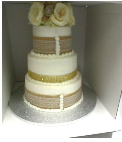 Cakesupplyshop P16jk Two / Three Tier 16inch Tall 16x16x16 Cake