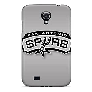 Durable Hard Cell-phone Cases For Samsung Galaxy S4 (Apj13493TEov) Custom Attractive San Antonio Spurs Skin