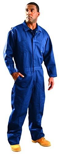 OccuNomix G909INB-2X Classic Indura Flame Resistant Coverall HRC 2, 9 oz, Navy Blue, 2X-Large