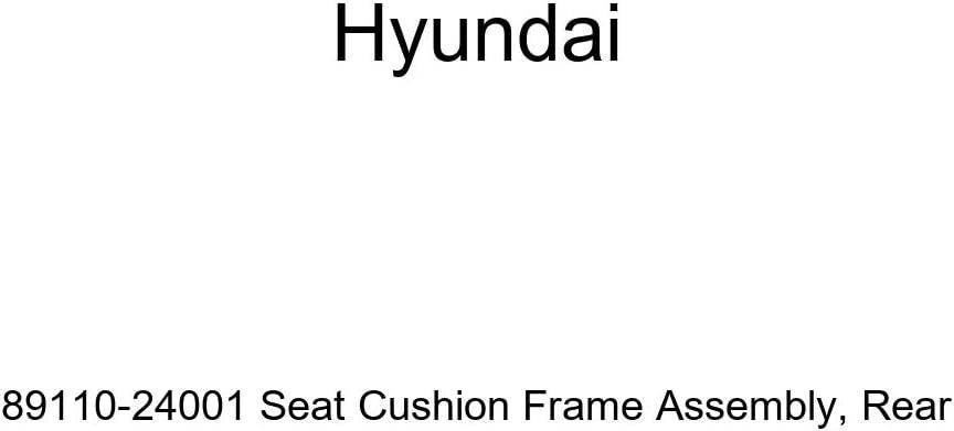 Genuine Hyundai 89110-24001 Seat Cushion Frame Assembly Rear