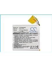 450mAh / 1.67Wh High Capacity Replacement Battery for Apple1 iPod Nano G3 4GB, iPod Nano G3 8GB