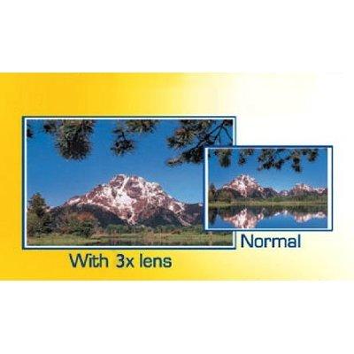 3x Digital Telephoto Professional Series Lens + DB ROTH Micro Fiber Cloth For The Sony HDR-SR5, SR7, SR8, SR10, SR11, SR12, CX7, CX12, CX100, XR100, XR200V, XR500V, XR520V Camcorders