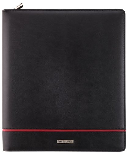 - Day Runner 2070399 Deco Refillable Planner, 8 1/2 x 11, Black