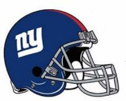 FATHEAD New York Giants Team Helmet Logo Official NFL Vinyl Wall Graphic 10