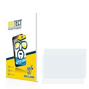 2x BROTECT HD-Clear Protector Pantalla Samsung Galaxy GT-N8000 Película Protectora – Transparente, Anti-Huellas