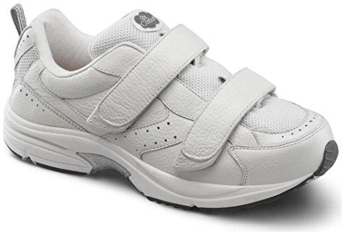 Winners Gym - Dr. Comfort Men's Winner X White Diabetic Athletic Shoes