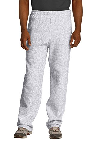 Jerzees Mens Drawcord Pill Resistant Athletic Sweatpants
