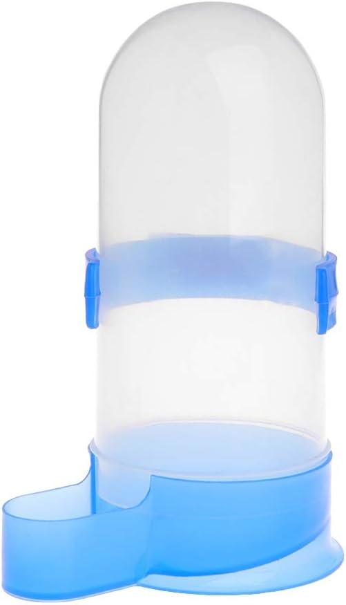 Hergon - Dispensador de Agua para Mascotas, Fuente de Agua para pájaros, Loro Paloma hervidor de Agua con Agua de alimentación automática