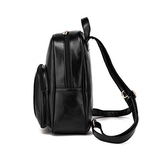FOLLOWUS - Bolso mochila  para mujer, rojo vino (rojo) - G72371A rosa