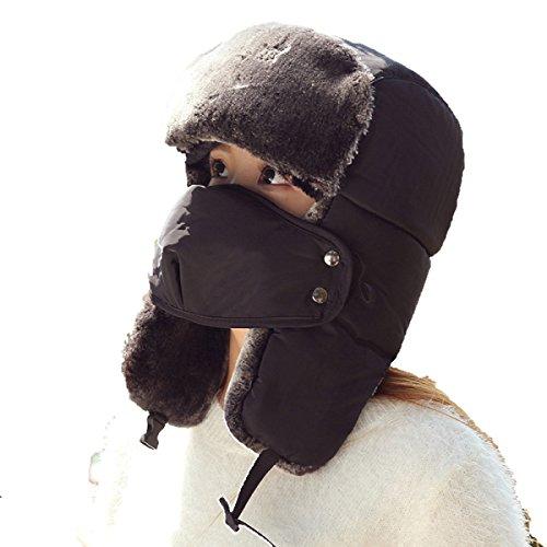 Flap Deportes Al Caliente De Unisex Viento Patinaje De Libre Khaki SOOCO Hombre Ushanka A De Sombrero De Máscara Otoño Para Esquí Senderismo Aire De Invierno Invierno Prueba Bombardero De 4ZaqSw